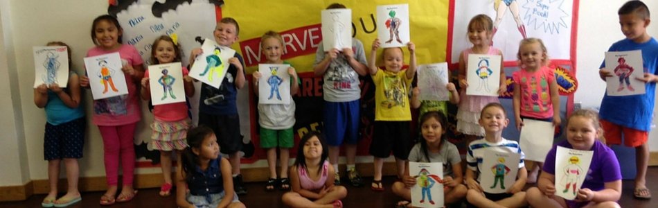 Every Hero Has a Story – Summer Reading