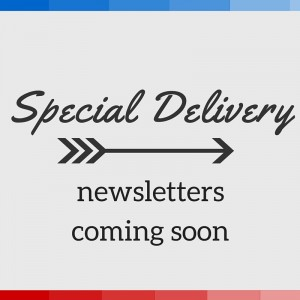 newsletters coming soon