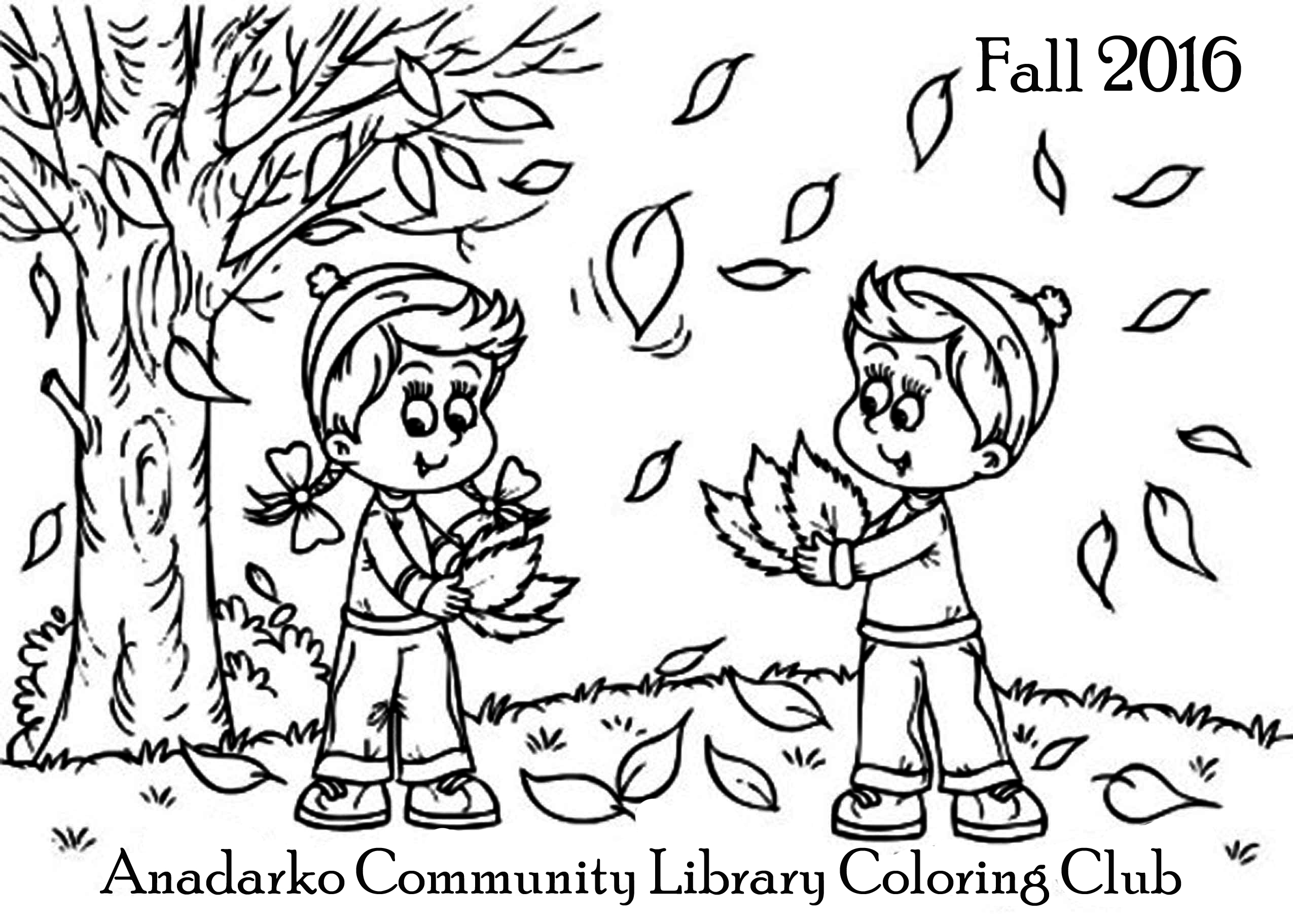 Coloring Club — Anadarko munity Library