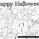 HalloweenColoringPage
